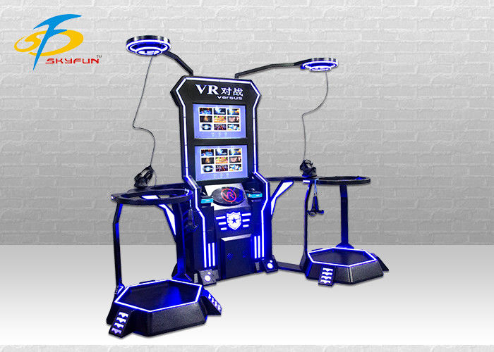 Skyfun Shooting Game Machine / 9D VR Simulator Kids 2 Seatms  Online Battle Interactive Area