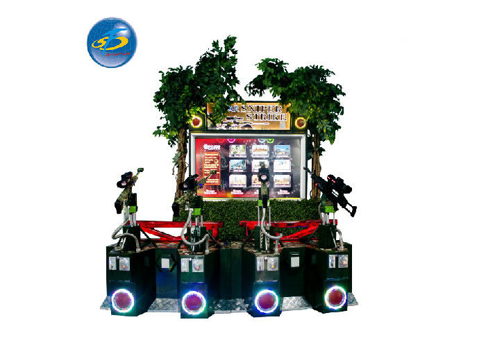 Commercial Arcade 4 Players AR Sniper Elite Shooting Game Machine 12 Months Warranty