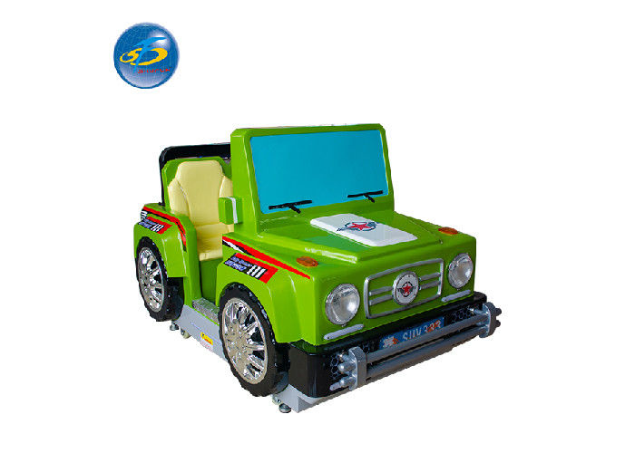 Small Arcade Game Center Coin Operated Kiddie Ride City Runner Car Driving Machine