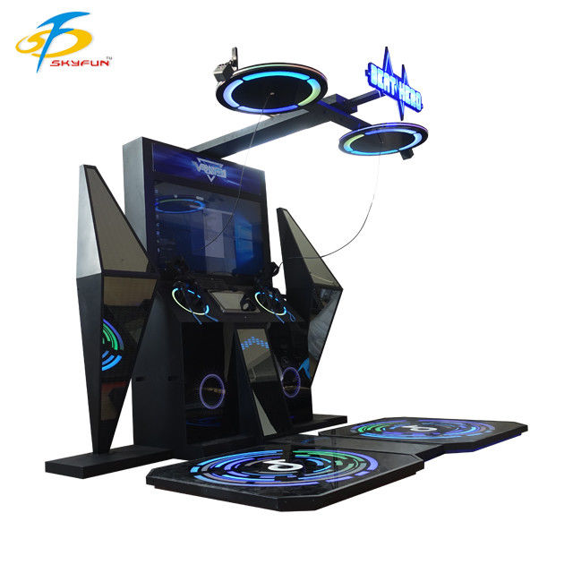 Beat Saber Arcade Game 9D VR Simulator With 2 Player Touch Screen Display
